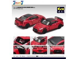Era Car 1/64 33 Nissan GT-R(R35) Nismo 2020 Red_ Die-cast Model Car _ER021D