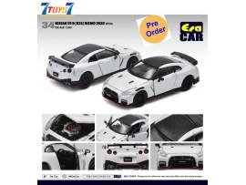 [Pre-order deposit] Era Car 1/64 34 Nissan GT-R(R35) Nismo 2020 Yellow 1ST Special Edition_ Die-cast Model Car _ER021F