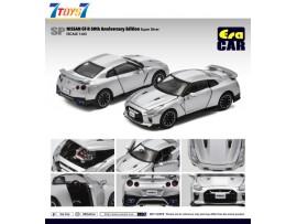 Era Car 1/64 SP25 Nissan GT-R 50th Anniversary Edition_ Super Silver Die-cast Model Car _ER021B
