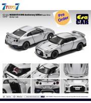 [Pre-order deposit] Era Car 1/64 SP25 Nissan GT-R 50th Anniversary Edition_ Super Silver Die-cast Model Car _ER021B