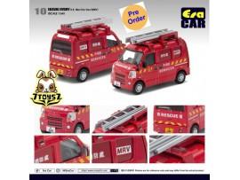 [Pre-order deposit] Era Car 1/35 Suzuki Every -HK Mini Fire Van (MPV)_ Diecast Model Car _ER006B
