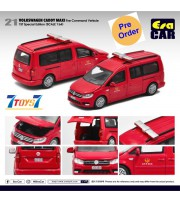 [Pre-order deposit] Era Car 1/64 39 Volkswagen Caddy Maxi_ Fire Command Vehicle 1st SP Ed Die-cast Model Car _ER023B