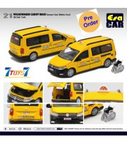 [Pre-order deposit] Era Car 1/64 21 Volkswagen Caddy Maxi_ Taiwan Taxi (Metro Taxi) Die-cast Model Car _ER023C