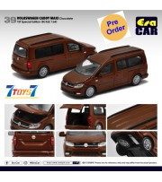 [Pre-order deposit] Era Car 1/64 39 Volkswagen Caddy Maxi_ Chocolate 1st SP Edition Die-cast Model Car _ER023D