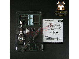 F-Toys 1/144 Heliborne Col 8 #1sp UH-1J Iroquois JSDF Winter Camo Japan FT051I
