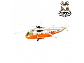 F-Toys 1/144 Heliborne 8 #2C S-61A Rescue Squardronhip Shirase JMSDF Now FT051F