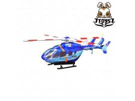 F-Toys 1/144 Heliborne Col 8 #3B BK117-C2 Chibaken Police Blue Scheme FT051H