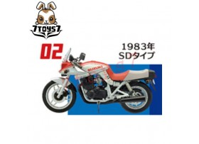 F-toys 1/24 Vintage Bike Kit Vol. 2_ #2 :Suzuki 1983 SD _Now FT046B