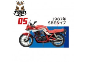 F-toys 1/24 Vintage Bike Kit Vol. 2_ #5 :Suzuki 1987 SBE _Now FT046E