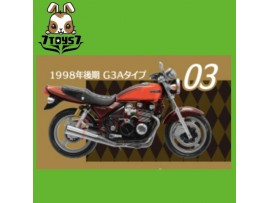 F-toys 1/24 Vintage Bike Kit Vol. 3_ #3 :Kawasaki Zephyr 1996 G3A _Now FT050C
