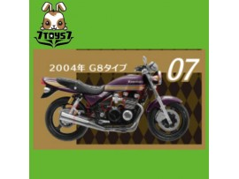 F-toys 1/24 Vintage Bike Kit Vol. 3_ #7 :Kawasaki Zephyr 2004 G8 _Now FT050G