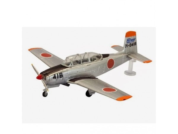 F Toys 1/144 JASDF 4 #1B Beechcraft T-34 air rescue group Japan FT042B