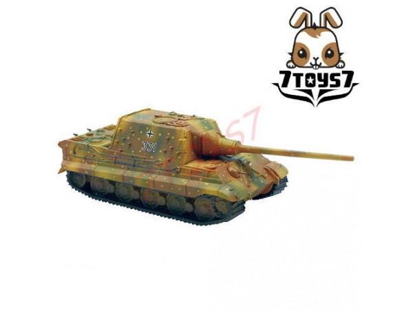 F-Toys 1/144 Battle Tank Kit 2#2A Jagdtiger:Camo German Army WWII FT017D