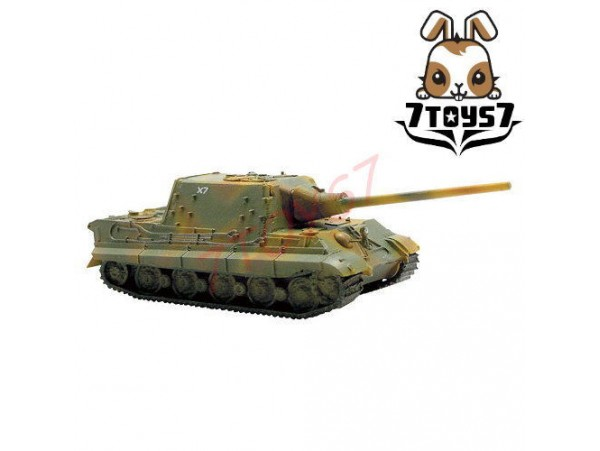 F-Toys 1/144 Battle Tank Kit 2#2C Jagdtiger : Camo FT017F
