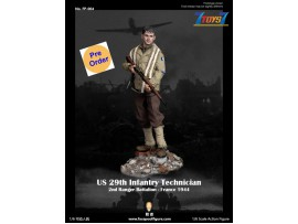 [Pre-order deposit] Facepoolfigure 1/6 FP004A US 29th Infantry Technician - France 1944_ Box Set _FP004Z