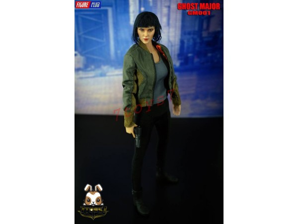 Figure Club 1/6 GM001 Ghost Major_ Costume Set w/ Head _no body movie Now FC001Z