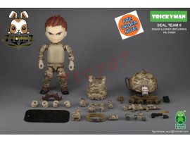 "[Pre-order] FigureBase 5"" Trickyman TM001 Seal Team 6 Squad Leader (Rifleman)_ Figure Set _ZZ153A"