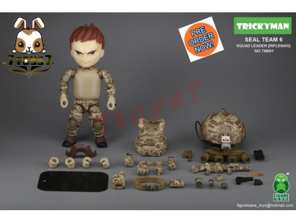 "[Pre-order] FigureBase 5"" Trickyman TM001 Seal Team 6 Squad Leader (Rifleman)_ Figure Set _ZZ153A"