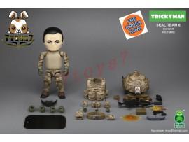"[Pre-order] FigureBase 5"" Trickyman TM002 Seal Team 6 Gunner_ Figure Set _ZZ153B"
