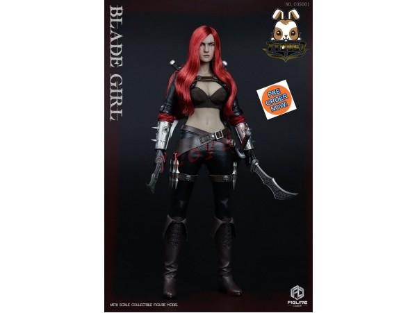 [Pre-order] Figurecoser 1/6 COS001 FC Blade Girl_ Box Set _ZZ171A