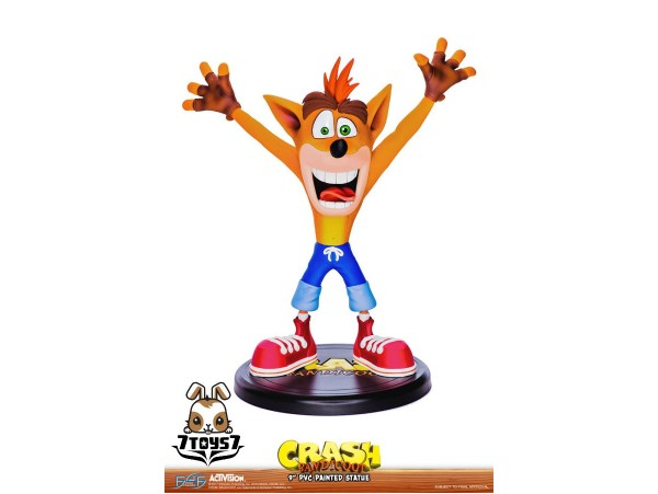 "First 4 Figures 9"" Crash Bandicoot_ Statue _FFF016Z-Pre-Order"