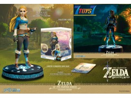 "First 4 Figures 9"" The Legend Of Zelda: Breath Of The Wild - Zelda_ Collector PVC Statue _FFF046Y"