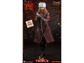 [Pre-order deposit] FLAGSET 1/6 FS73029 Red Alert Soviet female officer Katyush_ Box Set _FLA003Z