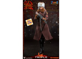 [Pre-order deposit] FLAGSET 1/6 FS73029 Red Alert Soviet female officer Katyush_ Box Set _FLA003Z
