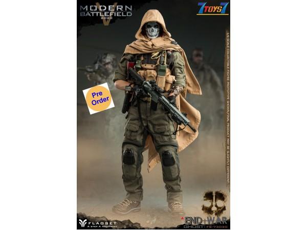[Pre-order deposit] FLAGSET 1/6 Modern Battlefield End War V - Ghost_ Box Set _FLA004Z