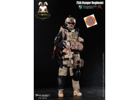 [Pre-order] Flagset 1/6 FS-73014 The United States 75th Ranger Regiment_ Box Set _ZZ084F