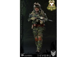 Flagset 1/6 73020 US Seals Team 6 DEVGRU Jungle Dagger_ Box Set _ZZ084G
