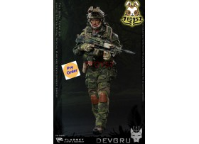 [Pre-order] Flagset 1/6 73020 US Seals 6 Team DEVGRU Jungle Dagger_ Box Set _ZZ084G