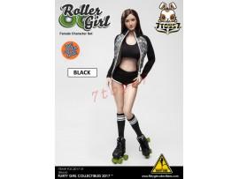 [Pre-order] Flirty Girl 1/6 Roller Girl Character_ Black Set _FG030C
