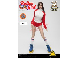 [Pre-order] Flirty Girl 1/6 Roller Girl Character_ Red Set _FG030A