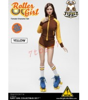 [Pre-order] Flirty Girl 1/6 Roller Girl Character_ Yellow Set _FG030B