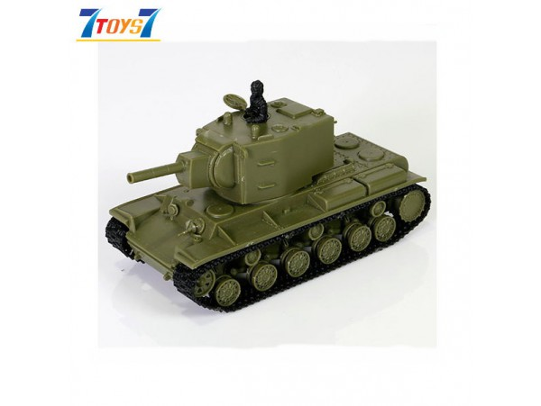 Forces of Valor Waltersons 1/72 Russian Heavy Tank KV-2 Japan Version_ Model Kit Box _FVX018C