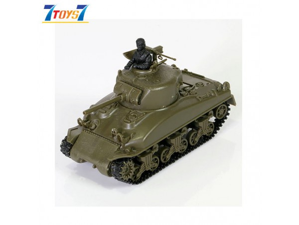 Forces of Valor Waltersons 1/72 U.S M4A1 Sherman Japan Version_ Model Kit Box _FVX018D