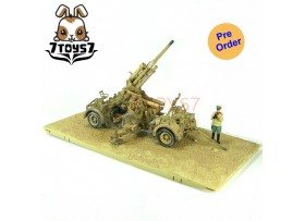[Pre-order] Force of Valor 1/32 German 88mm Artillery Flak 18 w/ 8 Figures_ Set _Die-cast  FVX002Z