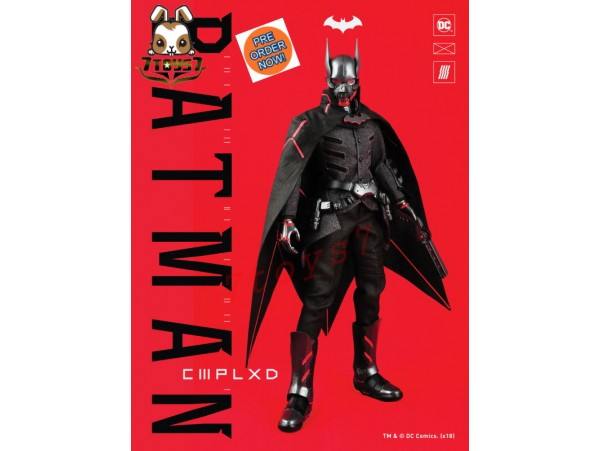 [Pre-order] Glitch 1/6 Authentic CMPLXD Batman_ Regular Box Set _GC010Z
