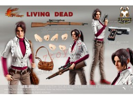 Hot Heart 1/6 FD004 Living Dead - Ms. Red_ Box Set _Biohazard ZZ041F