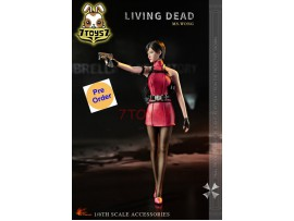 [Pre-order] Hot Heart 1/6 FD006A Living Dead - Ms. Wong_ Costume Set w/ Head _Biohazard ZZ041K