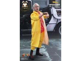 Hot Toys 1/6 Back To The Future 2 Dr Emmett Brown_ Box Set _Lloyd Now HT304Z