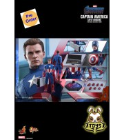 [Pre-order deposit] Hot Toys 1/6 MMS563 Avengers Endgame - Captain America (2012 Version)_ Box  Set _HT453Z