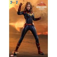 Hot Toys 1/6 MMS522 Captain Marvel_ Deluxe Box Set _HT461Z