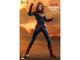 Hot Toys 1/6 MMS522 Captain Marvel_ Deluxe Box Set _HT461Z