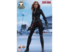 Hot Toys 1/6 Captain America Civil War - Black Widow_ Box _Scarlett Now HT288Z