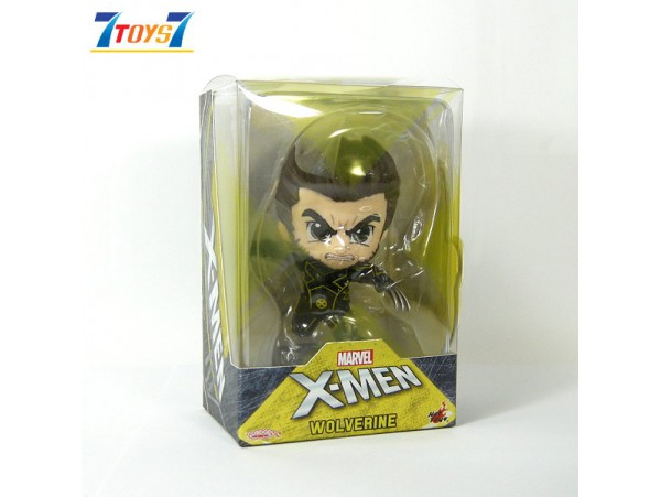 """Hot Toys Cosbaby 4"""" X-Men Wolverine_ Set _HT477A"""
