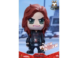 "Hot Toys Cosbaby 3.5"" Bobble-Head - Civil War: Black Widow_ Box Set _Now HT290J"