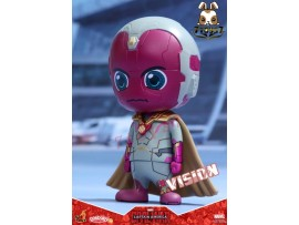 "Hot Toys Cosbaby 3.5"" Bobble-Head - Civil War: Vision_ Box Set _Now HT290K"
