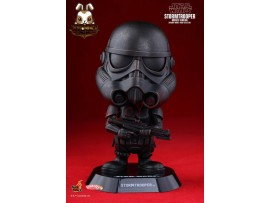 Hot Toys Cosbaby 11cm Bobble-Head Star Wars: Stormtrooper Bronze Ver_Now HT317D